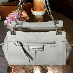 Nine West gray chain purse